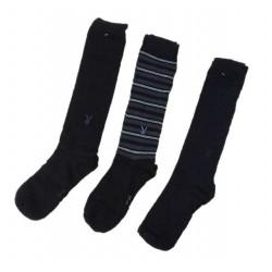 Set 3 paia di calze uomo lunghe PLAYBOY art. PLYG0001