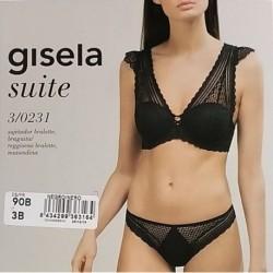 """Coordinato donna con bralette in pizzo serie """"Suite"""" GISELA art. 3/0231"""