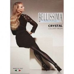 Collant moda donna con tassello BELLISSIMA art. Crystal
