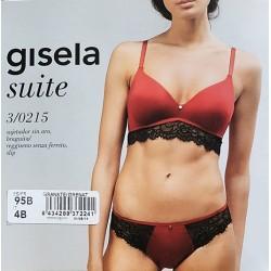 """Coordinato donna con inserti in pizzo serie """"Suite"""" GISELA art. 3/0215"""