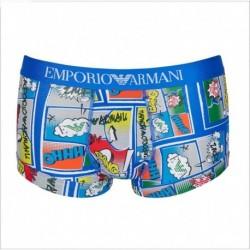Boxer parigamba con stampa graphic art Emporio Armani