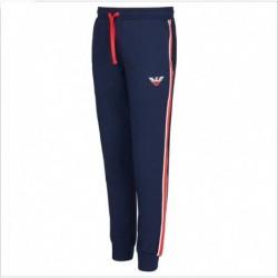 Pantaloni con coulisse e bande laterali Emporio Armani