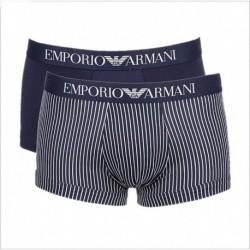 Set di 2 boxer parigamba con pattern decorativo Emporio Armani