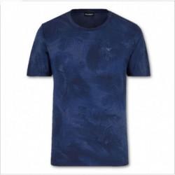 T-shirt con stampa tropical Emporio Armani