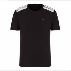 T-shirt con bande logate a contrasto Emporio Armani