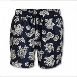 Boxer mare con stampa floreale e coulisse Lovable