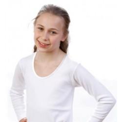 Tshirt bambina manica lunga conf. 3 pezzi LEABLE art. 214