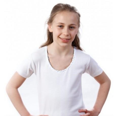 Tshirt bambina manica corta conf. 3 pezzi LEABLE art. 236