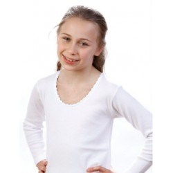 Tshirt bambina manica lunga conf. 3 pezzi LEABLE art. 241