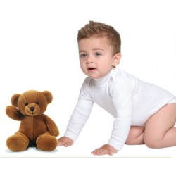 Body neonato unisex manica lunga conf. 3 pezzi LEABLE art. 2028