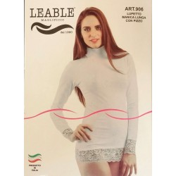 Lupetto donna manica lunga 3 pezzi LEABLE art. 906
