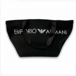 Borsa da spalla con logo Emporio Armani