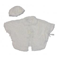 Mantella neonata con basco STELLA art. V321/42