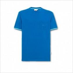 T-shirt con taschino e logo ricamato Sundek