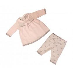 Coprifascia neonata in lana LUSIE' art. AC35/18